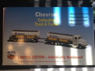 Chevron Collectible Truck & Trailer Limited Edition #3040