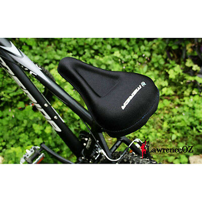 Merida Silicone GEL Thick Soft Bike Bicycle Cycling Saddle Seat Cover Cushion