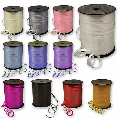 12mm*22m/5mm*22m Curling Ribbon On Spools Color Party Decorations Balloons