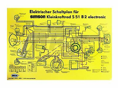 schaltplan pas f r simson s51 s50 s70 elektronik z ndung. Black Bedroom Furniture Sets. Home Design Ideas