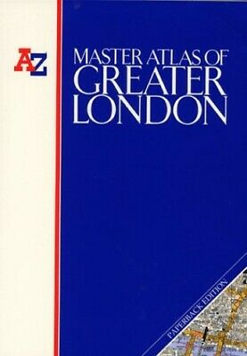 A. to Z. Master Atlas of Greater London Paperback Book The Cheap Fast Free Post