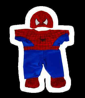 """Teddy Bear clothes spiderman spiderbear outfit fit 8"""" inch build a bear"""