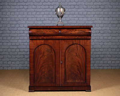 Antique William IV Mahogany Chiffonier c.1830.