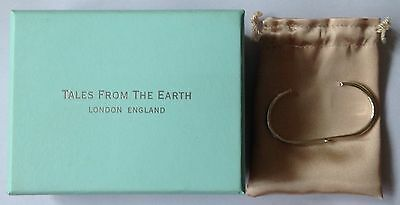 Silver 925 Christening Bangle Tales of the Earth