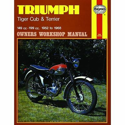 Manual Haynes for 1959 Triumph T20T Tiger Cub Competition (199cc)