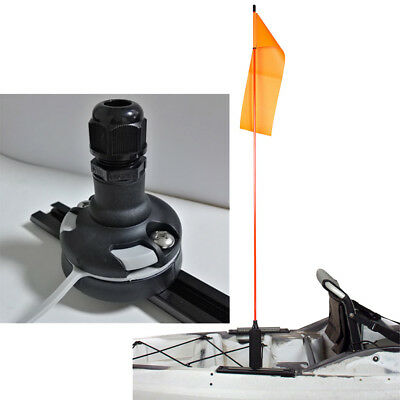 Kayak Flag Base Rail Mount Replacement for Marine Yacht Fising Boat Canoe