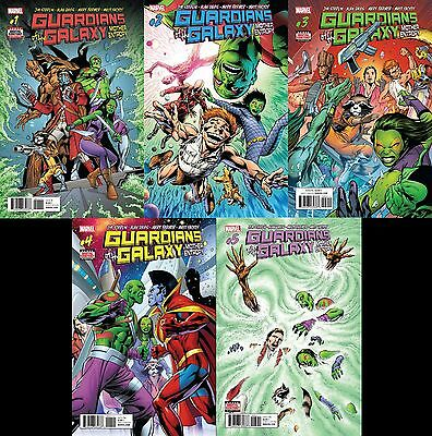 Guardians of the Galaxy: Mother Entropy #1 2 3 4 5 Digital Code Marvel Complete