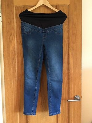 New Look Maternity Over Bump Jeggings / Skinny Jeans (x2 Pairs) Size 8