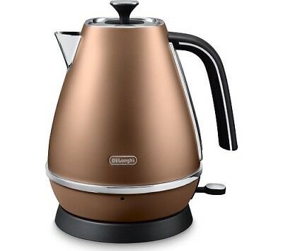 Delonghi KBI3001.CP Distinta Kettle 1.7L 2000W Copper 2 Year Warranty