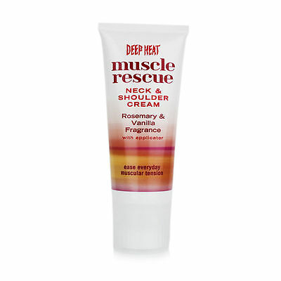 Deep Heat Muscle Rescue Neck and Shoulder Cream 50g