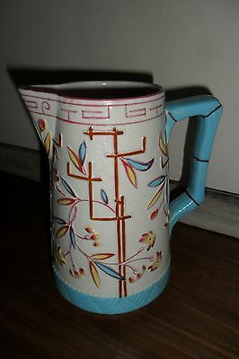 Lovely, Large Antique Victorian Ceramic Milk Jug - Very good condition