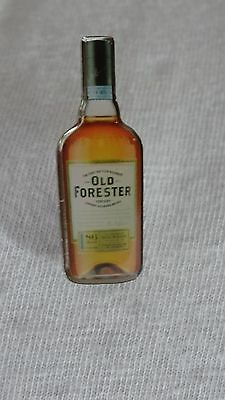 Old Forester Bourbon Emameled Lapel Pin - 1 1/4""