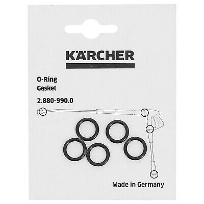 Pack Of 5 Karcher Lance Hose Nozzle Spare O-Ring Seal Genuine 28809900