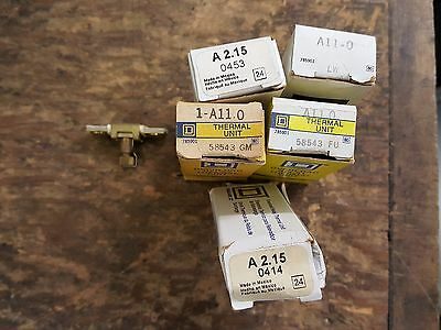 Lot Of Square D Thermal Overload Relay Units