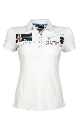 HKM Pro Team International White Polo Shirt 12-14 yrs
