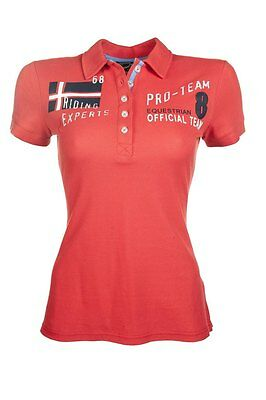 HKM Pro Team International, Red Polo Shirt 6-7 yrs
