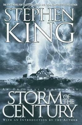 NEW Storm of the Century By Stephen King Paperback Free Shipping