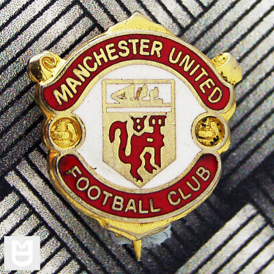 MANCHESTER UNITED FC Vintage W.REEVES CLUB CREST Badge