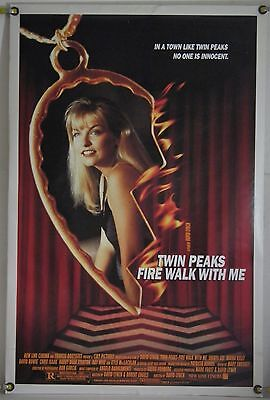 Twin Peaks Fire Walk With Me Ds Rolled Orig 1Sh Movie Poster David Lynch (1992)