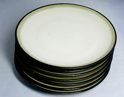 Sango NOVA BLACK 4932 Set Dinner Plates Soup Salad Dessert Bowls ...