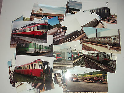 Sncf -  Lot  De 111  Photos  De Materiels Divers  -  Annees 90 -