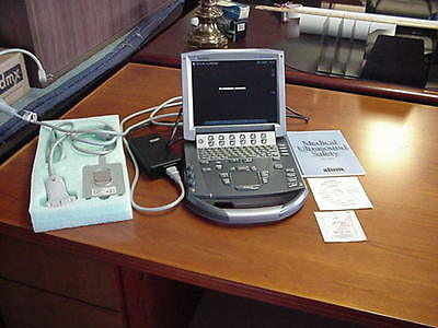SonoSite M-Turbo Ultrasound Sytem with HFL50x/15-6 MHz Transducer and power supp