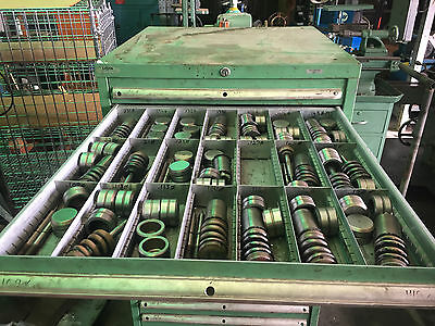 """Strippit Tooling 1-1/4"""" Thin Turret Tooling – Round & Single D Punches –Lot Sale"""