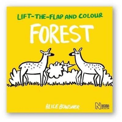 Lift-the-Flap and Colour Forest by Natural History Museum (Paperback, 2017)