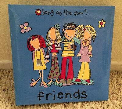 "Bang on the Door Friends 9x9 Blue Photo Album, Holds 200 4x6"" Photos"