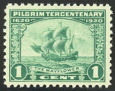 548 - 1c Pilgrim  - GREAT Centering - Fault Free Mint Never Hinged