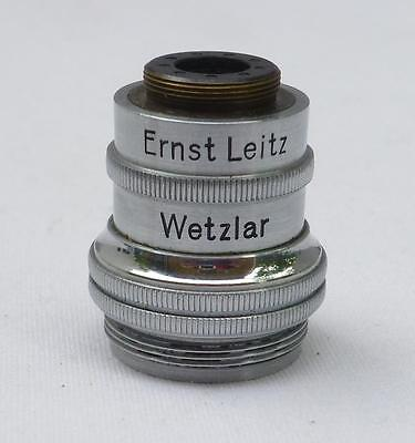 Ernst Leitz Wetzlar Microscope Objective or Adapter