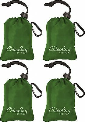 Reusable Shopping Tote / Grocery Bag by ChicoBag - 4 Pack - Pale Green