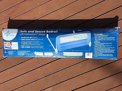 Compass Safe And Secure Bedrail With mattress Lock
