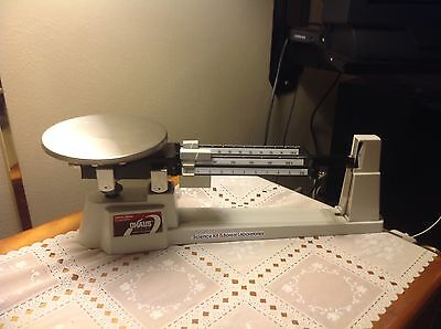 OHAUS Triple Beam Balance Scale-700/800 Series 2610g-5lb 2oz-great condition!