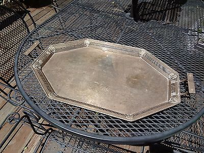 Very Nice European Solid Silver Serving Tray......1839 Grams