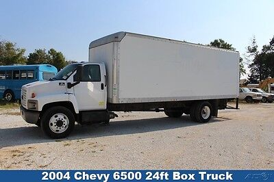 2004 Chevrolet 6500  Chevy 24ft box truck moving cat diesel 1-owner Used