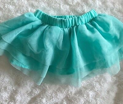 Baby Girl's Cat & Jack Blue Skirt 6-9 months