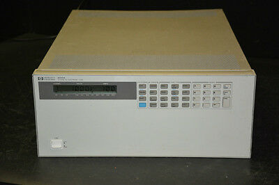 HP Agilent Keysight 6050A System DC Electronic Load (No Modules)