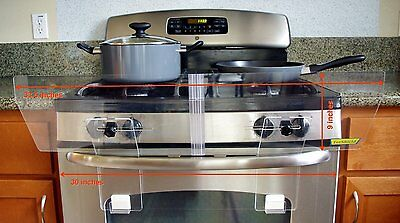 Stove Guard Free Standing Gas Electric Cookware Adjustable Door Handle Knobs New