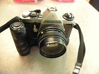 VINTAGE ASAHI PENTAX ME 35mm CAMERA with Auto Winder
