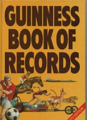 Guinness Book of Records 1978 Hardback Book The Cheap Fast Free Post