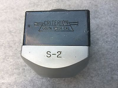 """Criterion S-2 Boring Head with 7/8-20 THREAD MOUNT.  For 1/2"""" Boring Bars"""