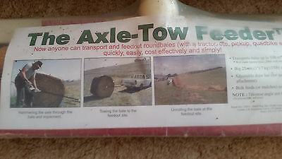 Axle Tow Round Bale Feeders