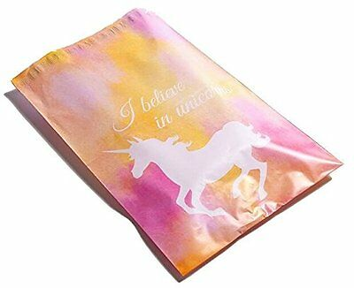 50 6x9 Pink Unicorn Designer Mailers Poly Shipping Envelopes Boutique Bags