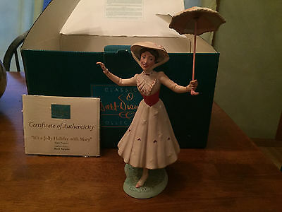 """WDCC Mary Poppins """"It's a Jolly Holiday with Mary"""" with Box/COA"""