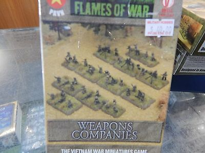 15mm Flames Of War Vietnam PAVN WEAPONS COMPANIES