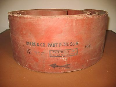 VINTAGE ORIGINAL JOHN DEERE STATIONARY ENGINE HIT & MISS ENDLESS BELT ( rare)