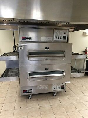 MIDDLEBY MARSHALL PS360Q Doublestack Gas Conveyor Pizza Ovens - Warranty Avail.