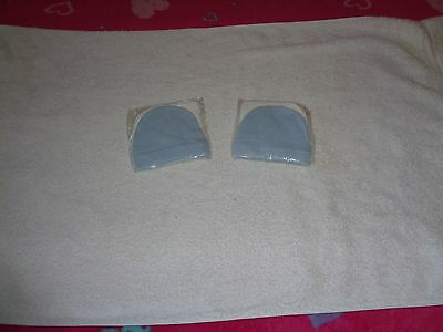 2 x New little hats and face towel for baby boys