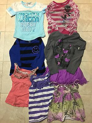 Lot Girls Clothes From Justice - Size 7